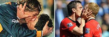 Maradona-Caniggia y Scholes-Neville