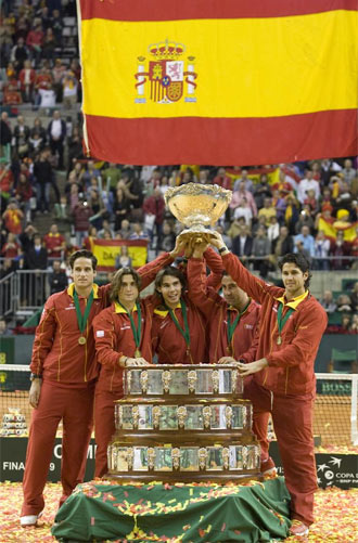 Esca�uela asegura que el tenis es el deporte n�mero uno en Espa�a