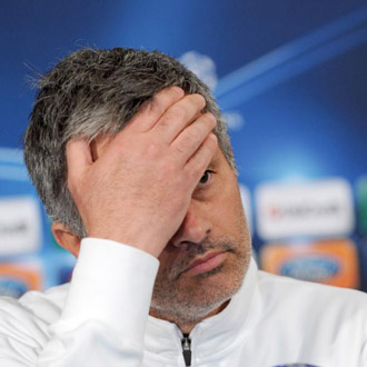 Mourinho durante la rueda de prensa previa al choque