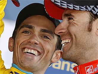 Contador y Valverde, entre los grandes favoritos en la Flecha Valona.