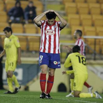 Jurado se lamenta de la derrota en el campo de el Villarreal