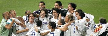 Celebraci�n del Real Madrid de la Liga 06-07