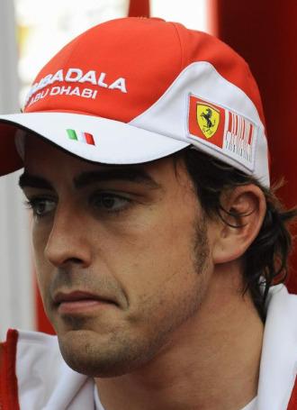 El piloto espa�ol Fernando Alonso