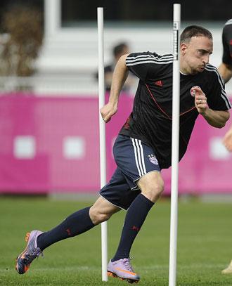 Un gol de Ribery se cotiza a 8.00 euros por euro apostado.