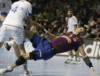 El barcelonista Noddesbo en un reciente partido de Liga