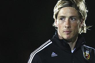 Torres, durante un entrenamiento