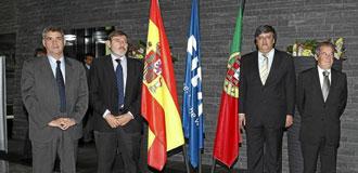 Villar, Lissavetzki, Blatter y Gilberto Madail