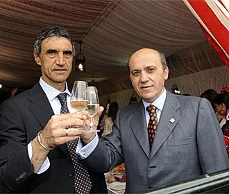 Del Nido, junto a �lvarez en la Feria de Abril.