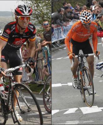 Alejandro Valverde e Igor Ant�n.