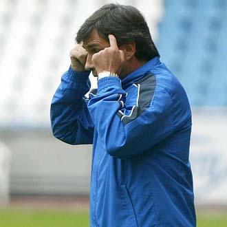 Nogu�s durante su �poca como entrenador