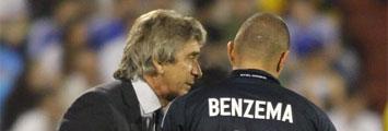 Benzema y Pellegrini
