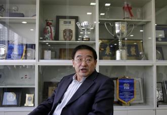 Wei Di, presidente de la Federaci�n CHina