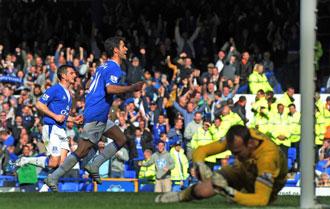 Arteta se ha convertido en el jugador referencia del Everton