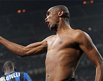 Eto'o ha reconocido que el Barcelona es mejor equipo que el Inter.