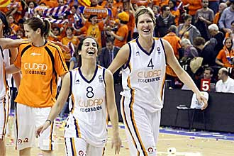 Las jugadoras del Ros Casares han vuelto a demostrar que son las mejores de España
