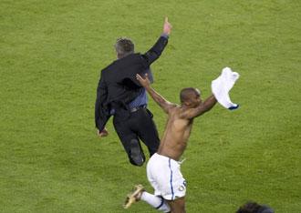 Etoo volvi� al Camp Nou por segunda vez esta temporada