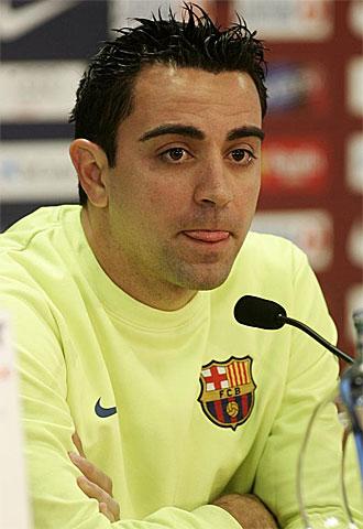 Xavi habla este jueves en sala de prensa.