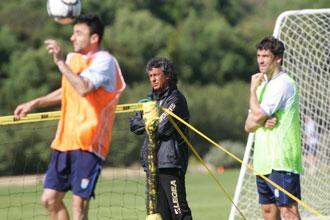 Gorosito prepara el partido ante el Almer�a