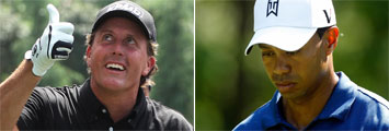 Phil Mickelson-Tiger Woods