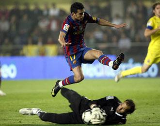 Pedro volvi� a ser decisivo para su equipo ante el Tenerife