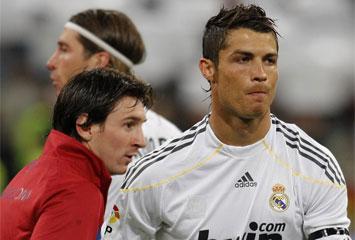 Messi y CR9