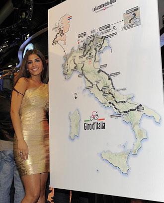 Recorrido oficial del Giro 2010.