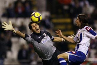 Filipe Luis se lesionó en esta jugada