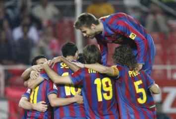 Sevilla 2-3 Barcelona