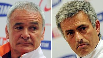 Ranieri y Mourinho