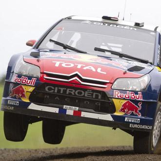 Loeb no est� disfrutando de su rally m�s afortunado en Nueva Zelanda