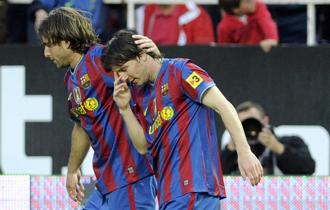 Maxwell en el partido ante el Sevilla, en el que se lesion�