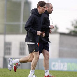 Torres corretea por las instalaciones del Celta de Vigo