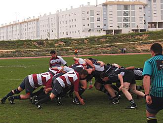 Mel� del encuentro entre el Sarri�n Rugby Toledo y el Albacete de la primera jornada del Torneo de rugby de Castilla-La Mancha