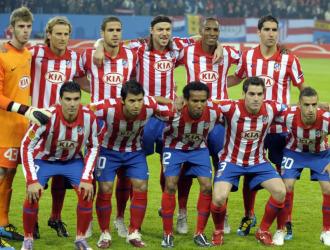 El once del Atl�tico que gan� la Europa League