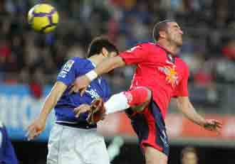 El Xerez se lo juega todo ante el Osasuna