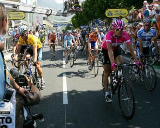 Armstrong y Ullrich, antiguos rivales