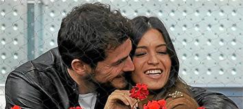 Iker Casillas junto a Sara Carbonero