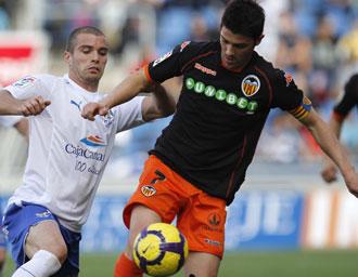 Tenerife y Valencia se enfrentan en Mestalla