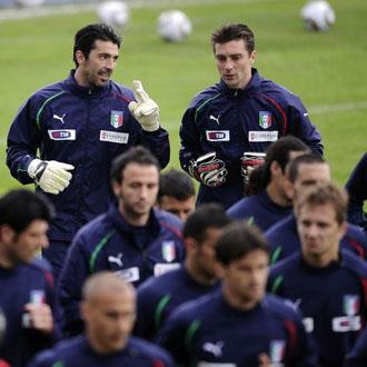 Buffon es el due�o indiscutible de la puerta italiana desde el Mundial 2002