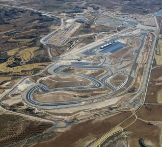 El circuito Motorland de Arag�n.