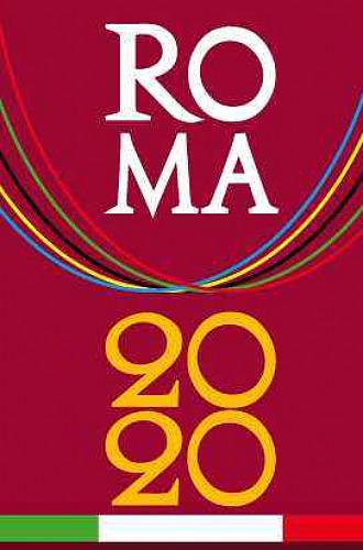 Logotipo de la candidatura de Roma 2020