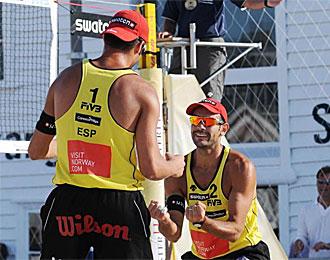 La pareja Mesa-Larios se ha unido al cuadro final en Italia.
