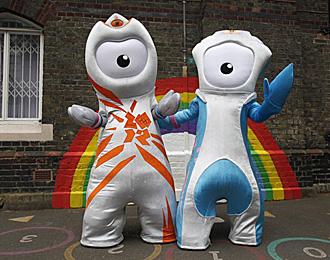Las mascotas de Londres 2012 bien podr�an haber sido las de Madrid 2012.