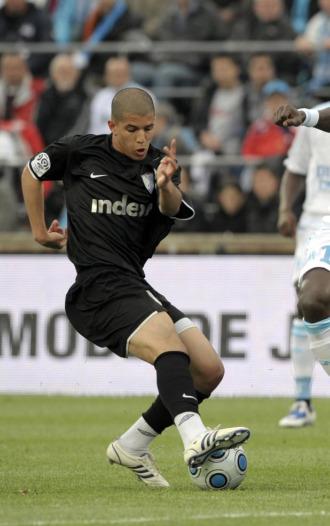 El jugador galo Sofiane Feghouli