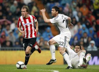 Yeste, durante el partido contra el Real Madrid