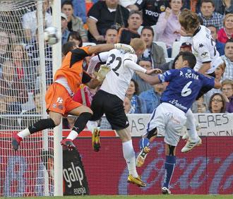Alexis marca el gol contra el Tenerife