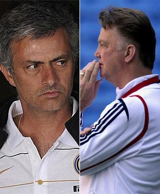 Louis Van Gaal y Jos� Mourinho medir�n su estrategia en la final de la Liga de Campeones