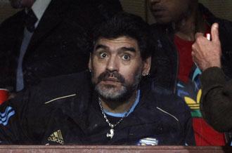 Maradona enfoca la recta final antes del Mundial