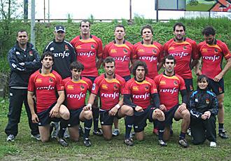 Estos son los diez jugadores y el cuerpo t�cnico que llev� a Espa�a a la victoria en el Seven de Sopot