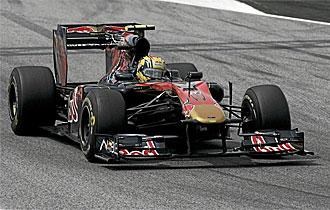Alguersuari est� feliz en Toro Rosso.
